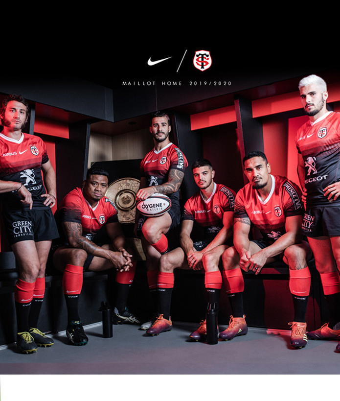 Maillot Replica Stade Toulousain Homme 19/20 Home 4