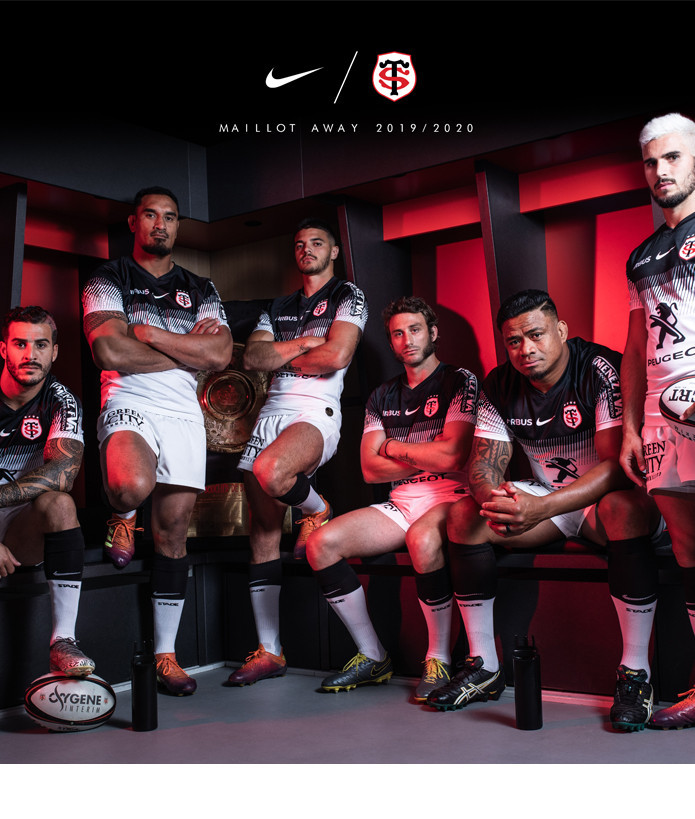 Maillot Replica Stade Toulousain Homme 19/20 Away 4
