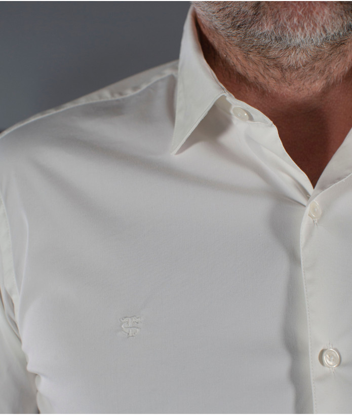 Chemise Homme Strech Blanco Stade Toulousain Blanche 4