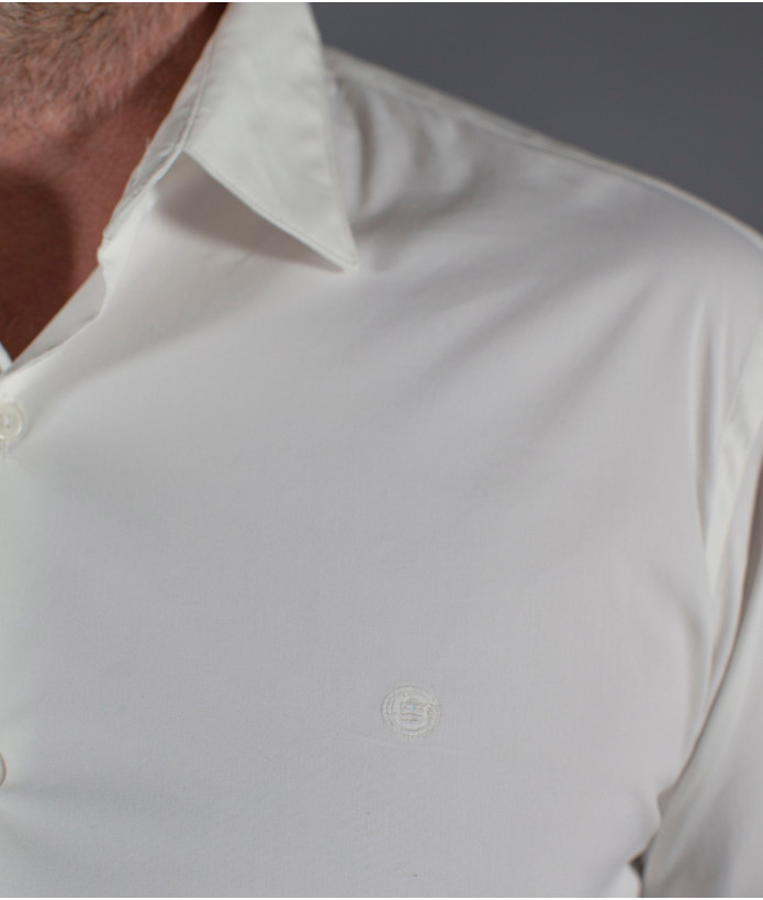 Chemise Homme Strech Blanco Stade Toulousain Blanche 3