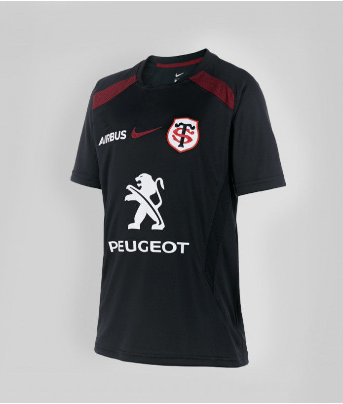 T-shirt Enfant Training 20/21 Stade Toulousain Noir 1