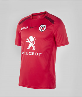 T-shirt Homme Training 20/21 Stade Toulousain Rouge 1