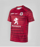 T-shirt Homme Warm Up 20/21 Stade Toulousain Rouge 1