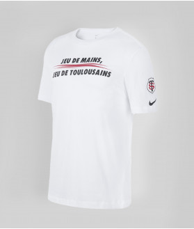 T-shirt Homme Graphic JDM 20/21 Stade Toulousain Blanc 1