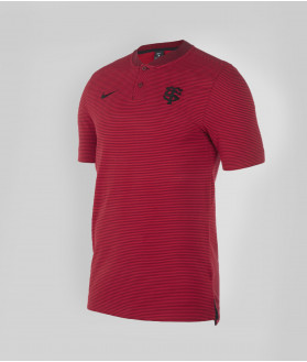 Polo Homme col mao Raye 20/21 Stade Toulousain Rouge 1