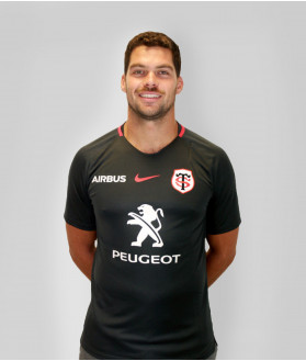 T-shirt Homme training 2019/2020 Stade Toulousain Anthracite 1