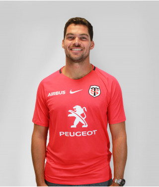 T-shirt Homme training 2019/2020 Stade Toulousain Rouge 1