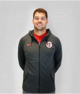 Veste Hoodie Homme Dry Fz Stade Toulousain 1
