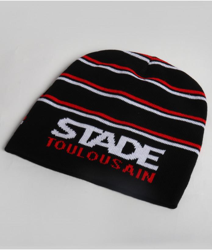 Bonnet Rayures Stade Toulousain 3