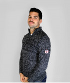 Pull Col Camionneur Homme Promoc Stade Toulousain 1