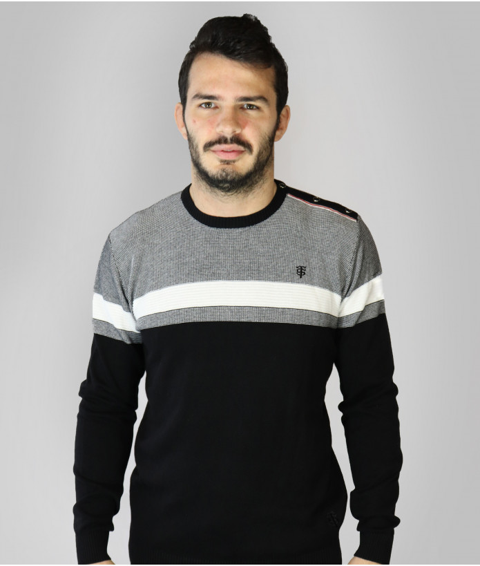Pull Col Rond Homme Aéro Stade Toulousain 1