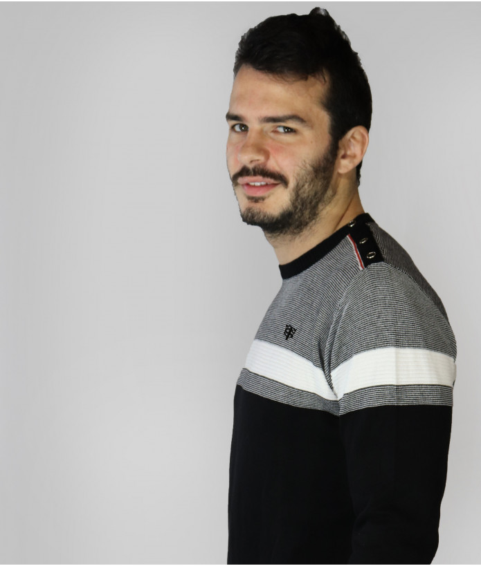 Pull Col Rond Homme Aéro Stade Toulousain 2