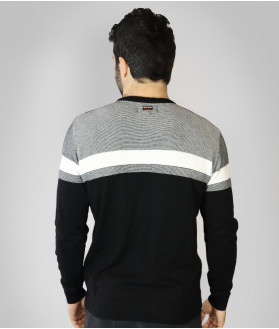 Pull Col Rond Homme Aéro Stade Toulousain 3