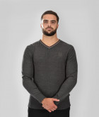 Pull col v Homme Pascal Stade Toulousain Gris 4