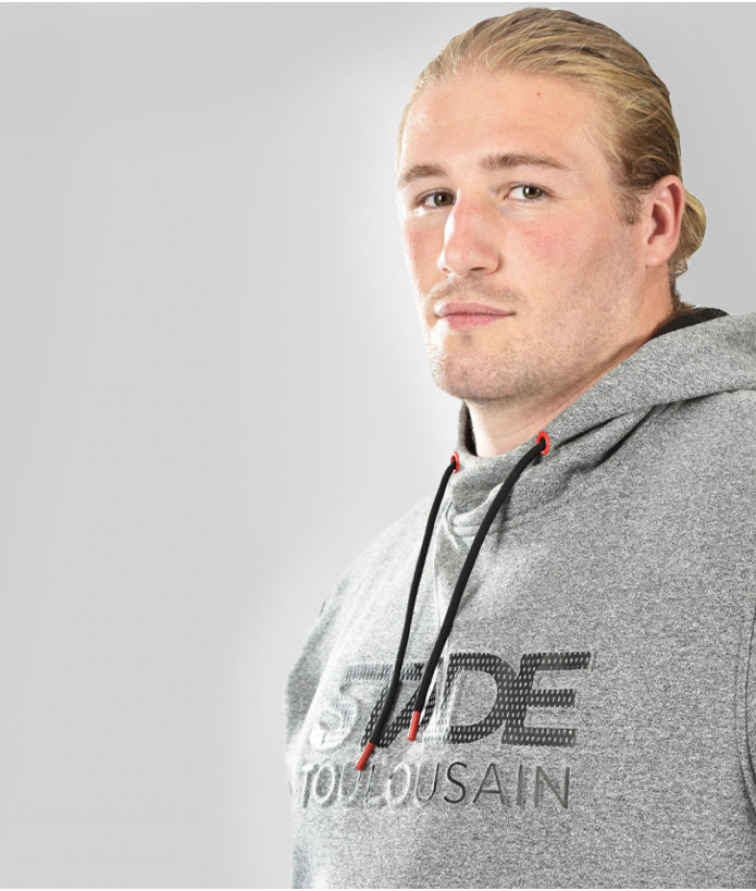 Sweat Hoodie Homme Emboss Stade Toulousain 3