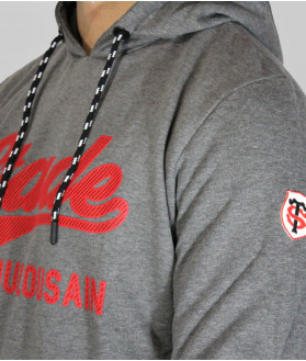 Sweat Hoodie Homme Slice Stade Toulousain Anthracite 2