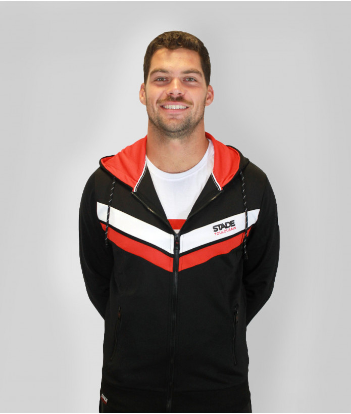 Veste Hoodie Homme Clement Stade Toulousain 1