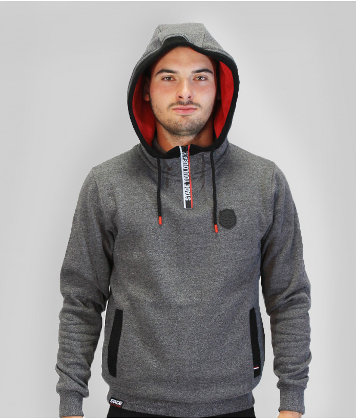 Sweat Demi-zip Homme Contrast Stade Toulousain 3