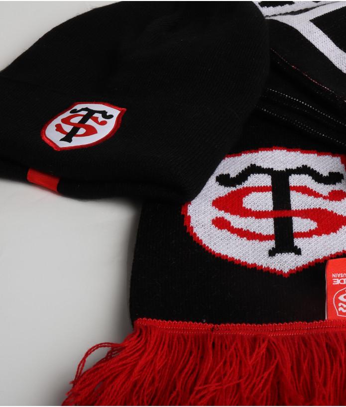 Set Hiver Echarpe Bonnet et Gants Stade Toulousain 2