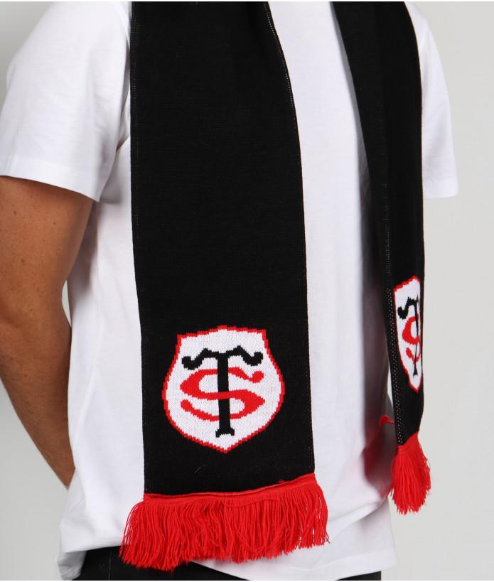 Set Hiver Echarpe Bonnet et Gants Stade Toulousain 6