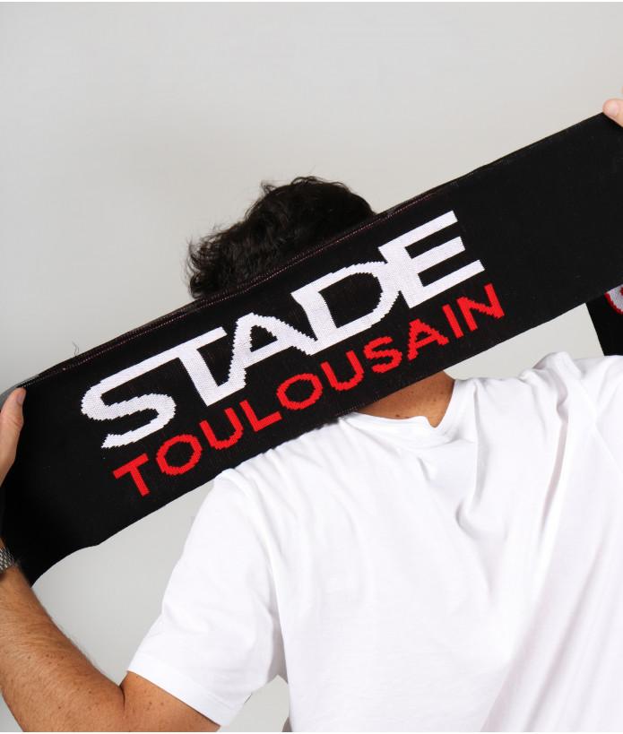 Set Hiver Echarpe Bonnet et Gants Stade Toulousain 7