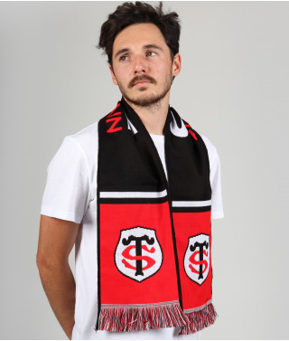 Echarpe Supporter Tissée Stade Toulousain 1