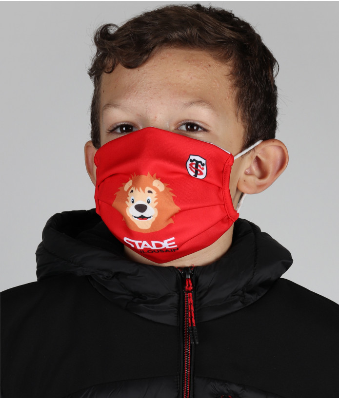 Set de 2 Masques Enfant Stade Toulousain 4