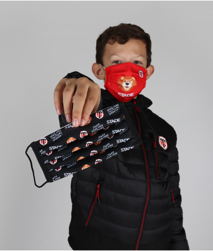 Set de 2 Masques Enfant Stade Toulousain 1