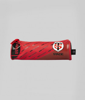 Trousse Ronde Zip 1 Compartiment Rugby Stade Toulousain 1