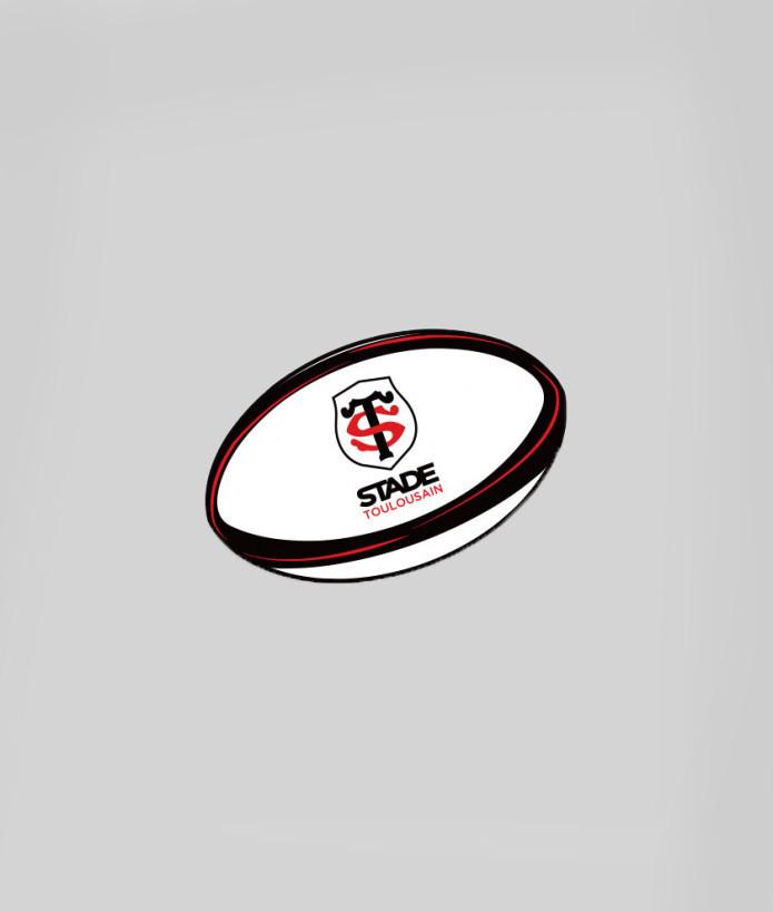 Autocollant ballon Stade Toulousain