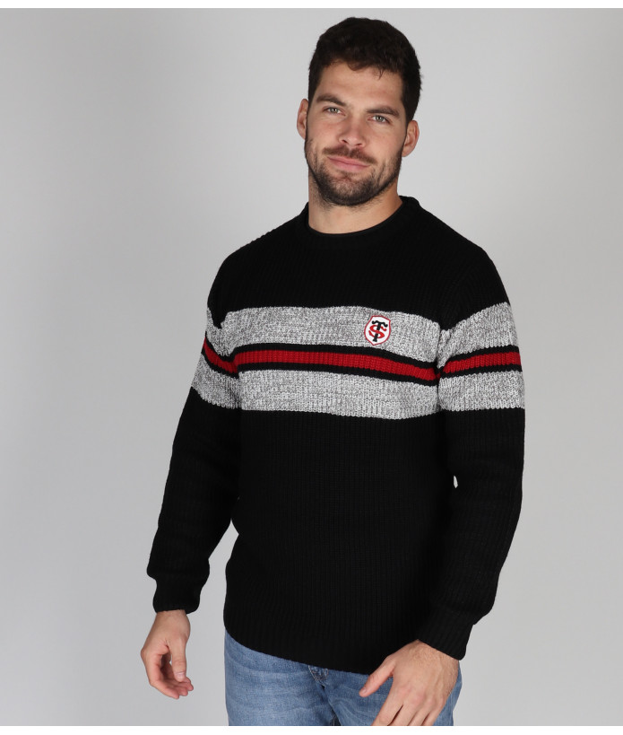 Pull Homme Col Rond Ludwig Stade Toulousain 2