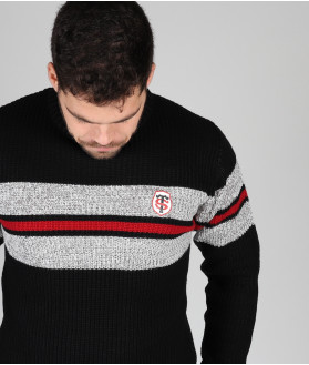 Pull Homme Col Rond Ludwig Stade Toulousain 4