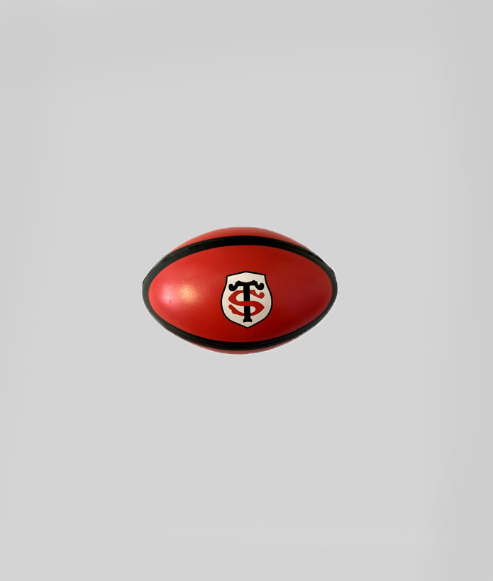 Ballon Stress Ball Stade Toulousain Rouge 1