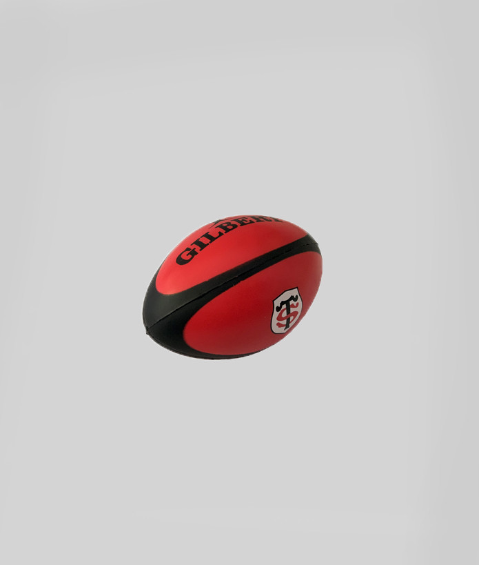 Ballon Stress Ball Stade Toulousain Rouge 3