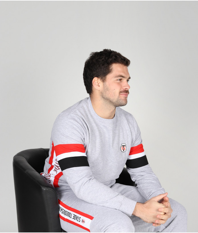 Sweat Col Rond Homme Marc Stade Toulousain 3