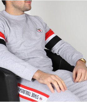 Sweat Col Rond Homme Marc Stade Toulousain 4