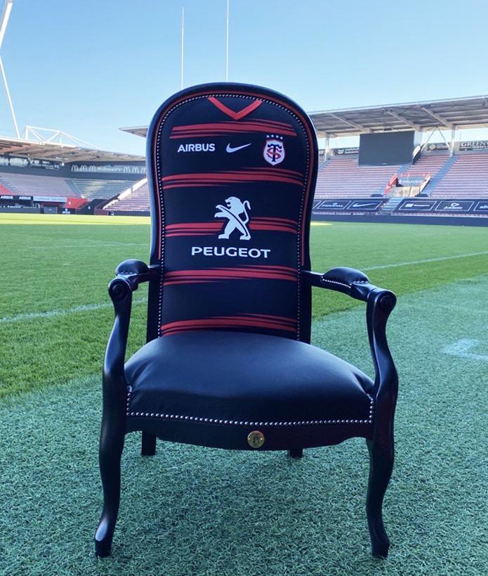Fauteuil Maillot 2020-2021 Stade Toulousain Noir 1