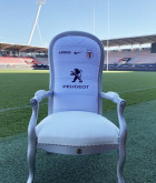 Fauteuil Maillot 2020-2021 Stade Toulousain Blanc 1