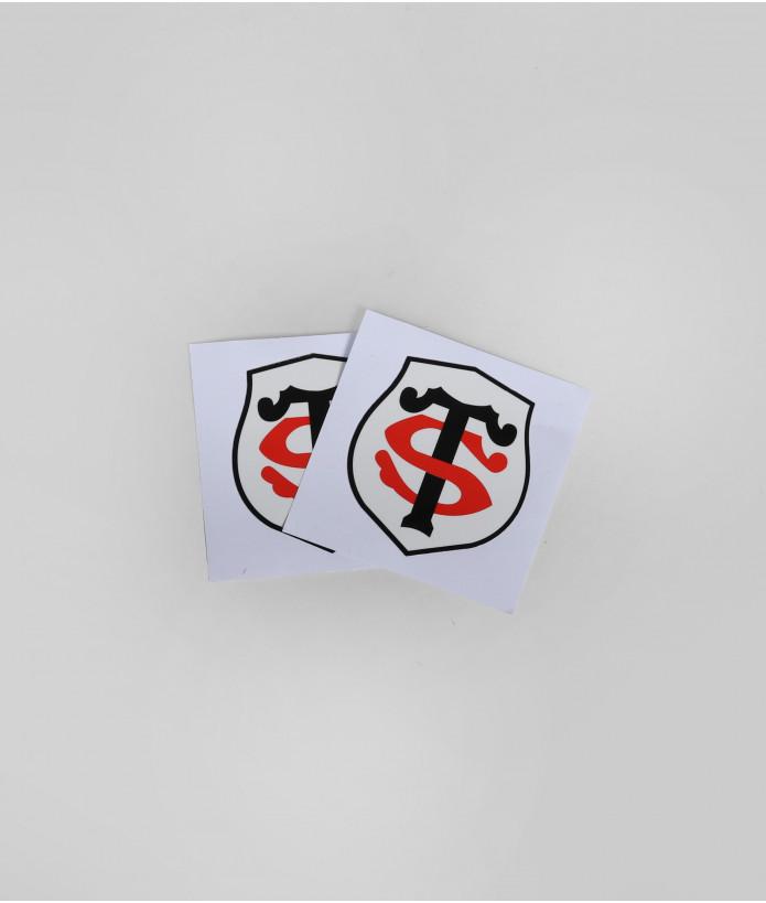 Autocollant 5cm Logo St Set De 2 Stade Toulousain 3