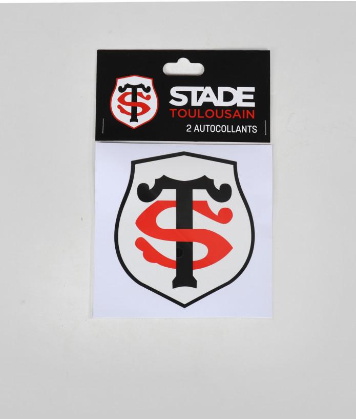 Autocollant 5cm Logo St Set De 2 Stade Toulousain 1