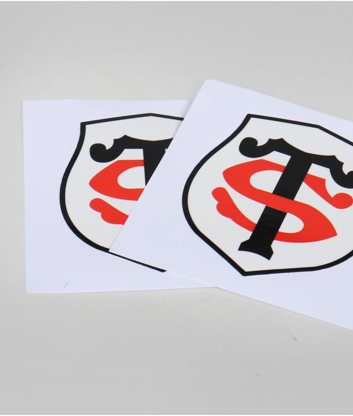 Autocollant 10cm Logo Set De 2 Stade Toulousain 4