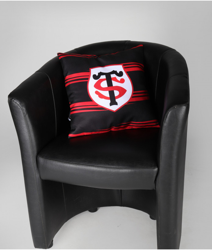 Coussin Supporter Rayé Stade Toulousain 2