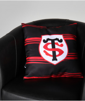 Coussin Supporter Rayé Stade Toulousain 3