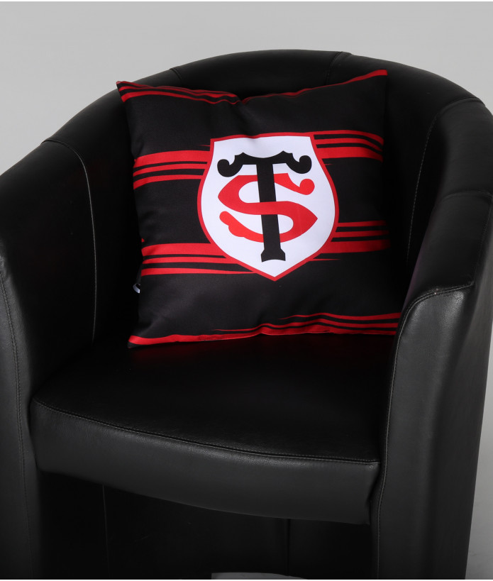 Coussin Supporter Rayé Stade Toulousain 1