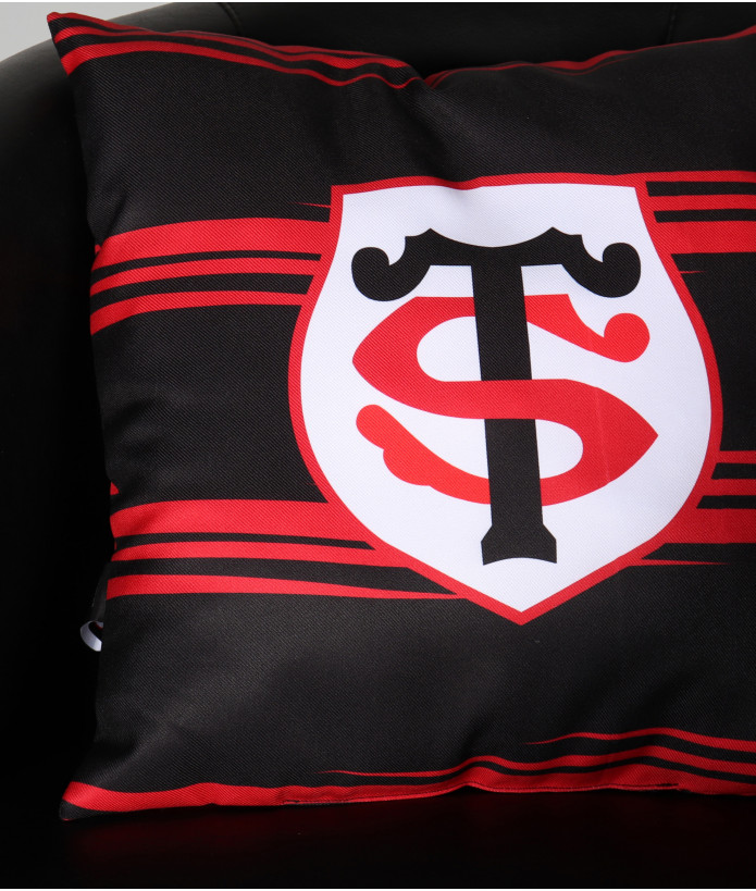 Coussin Supporter Rayé Stade Toulousain 4
