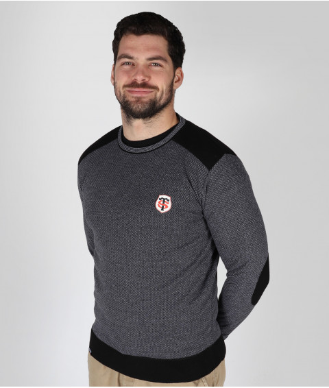 Pull Col Rond Homme Sandago Stade Toulousain 1