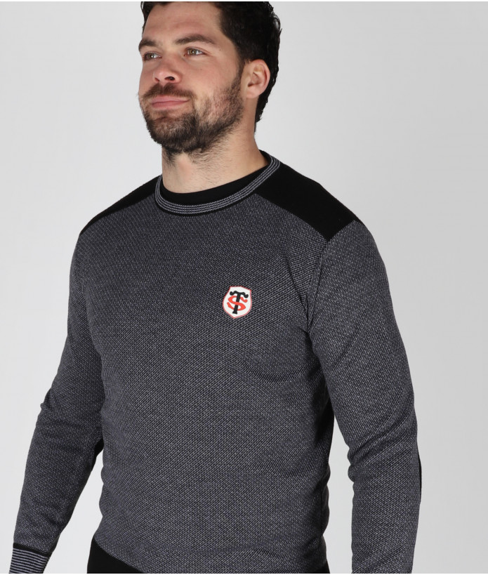 Pull Col Rond Homme Sandago Stade Toulousain 3
