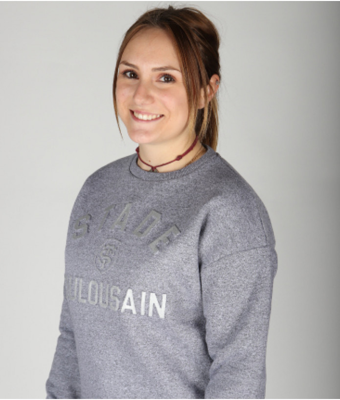 Sweat Col Rond Femme Lucie Stade Toulousain 1