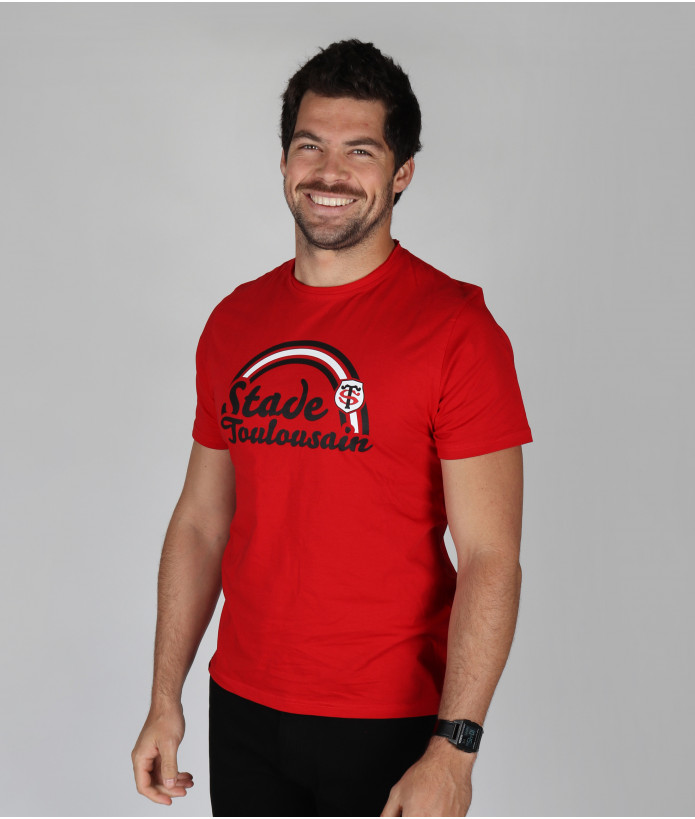 T-shirt Homme Aston Stade Toulousain Rouge 1