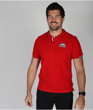 Polo Homme Elie Stade Toulousain Rouge 1